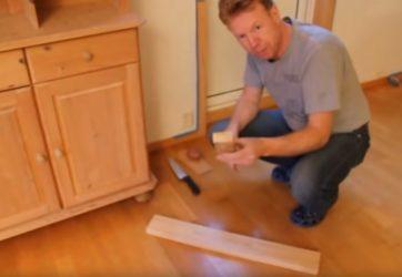 Как передвинуть мебель не поцарапав пол?