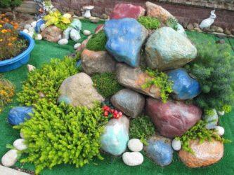 Где взять камни для альпийской горки?
