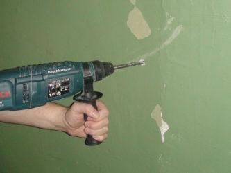 На что можно наткнуться когда сверлишь стены?
