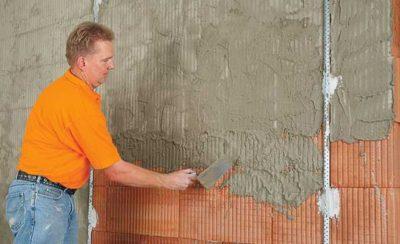 Штукатурка для кирпичных стен какую выбрать?