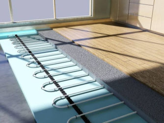 Как уложить ламинат на теплый водяной пол?