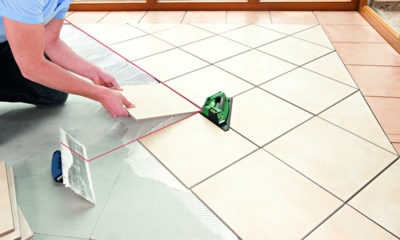 Как правильно положить плитку на пол?